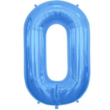 O Blue Letter Foil