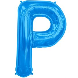P Blue Letter Foil