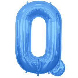 Q Blue Letter Foil