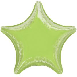 Lime Green Star Foil