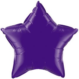 Purple Star Foil