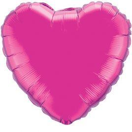 Pink Heart Foil