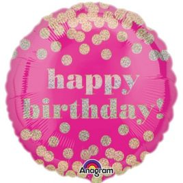 Dotty Pink Birthday