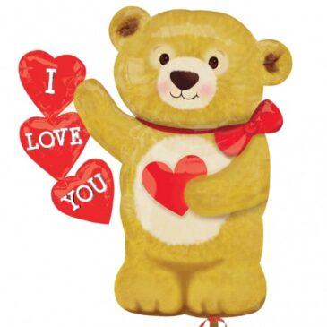 Bear Hearts 23″
