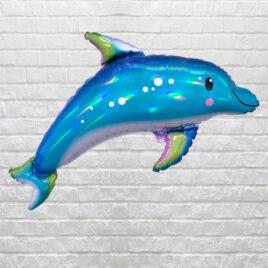 Iridescent Blue Dolphin