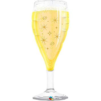 Champagne Glass 39″