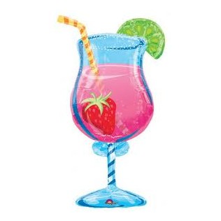 Cocktail glass 37″