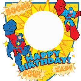 Birthday Superhero