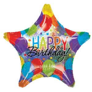 Birthday Star 32″