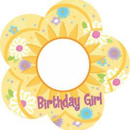 Birthday Girl Frame