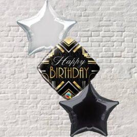 Happy Birthday Deco Foil Bouquet