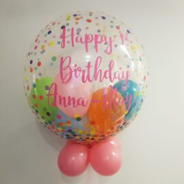 Personalised, Mini Balloons & Cluster