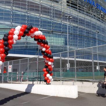 Balloon Arch - Aviva Stadium
