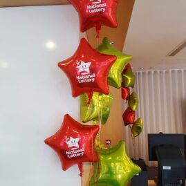 Foil Bouquets - National Lottery