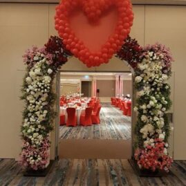 Heart Sculpture, Valentine's DayCharity Ball