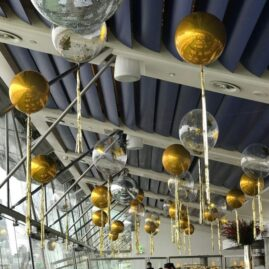 Bubble Ceiling Decor