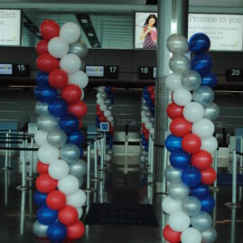 Balloon Columns - American Airlines