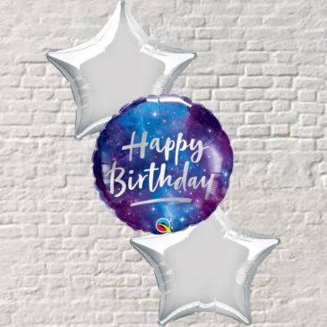 Galaxy Star Birthday Bouquet