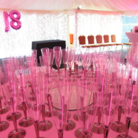 18th Birthday Marquee and Decor