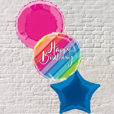 Rainbow Birthday Bouquet