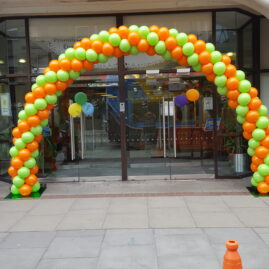 Euro Lotto winnder - arch, green & orange