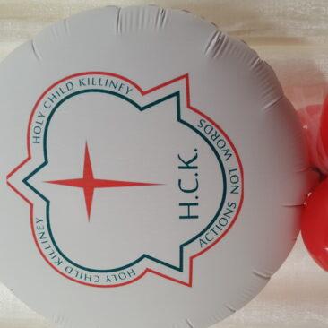Foil Balloon - Holy Child Killiney School