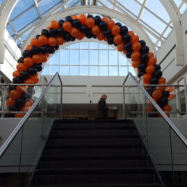 Halloween Arch in Swan Centre