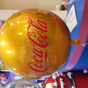 Orbz balloon - Coca Cola