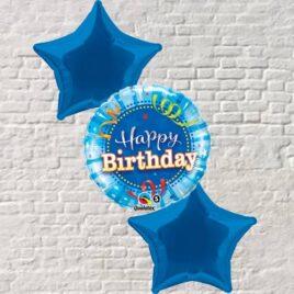 Blue Birthday Bouquet