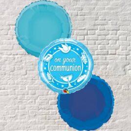 0301 Blue Communion Bouquet