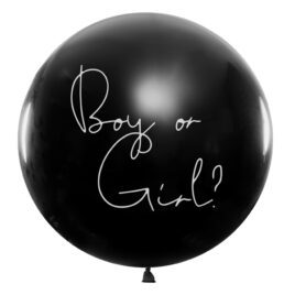 Gender Reveal Large Balloon with Confetti
