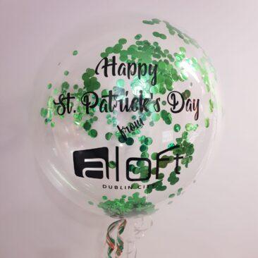 Bubble Balloon - Aloft St Patricks Day
