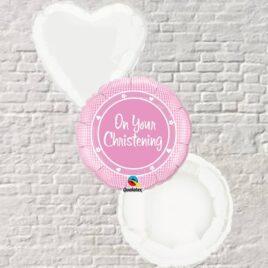 0200 Christening Pink Bouquet