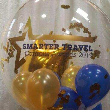 Bubble Balloons - Smarter Travel Awards