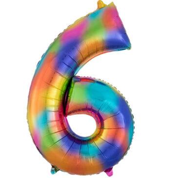 Rainbow 34in #6