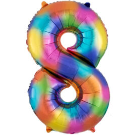 Rainbow Balloon Number 8