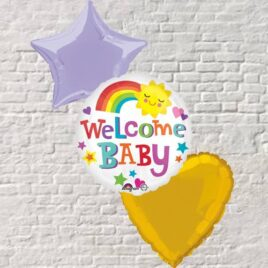0103 Welcome Baby Bouquet