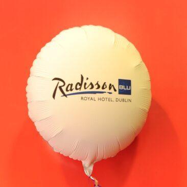 Foil Balloon - Radisson Blu Royal Hotel