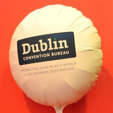 Foil balloon - Dublin Convention Bureau