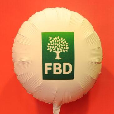 Foil balloon - FBD Insurance