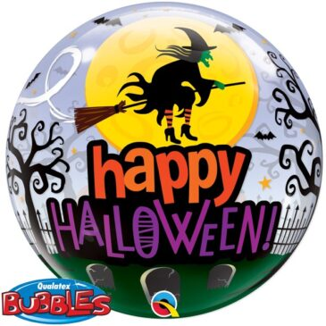 Witch Haunting Bubble 22″