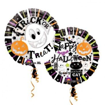 See-Thru Halloween Balloon 26″