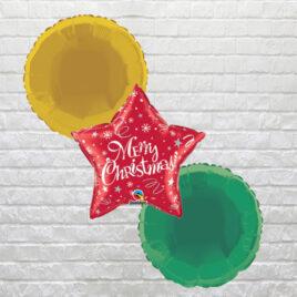 9004 Red Star Christmas