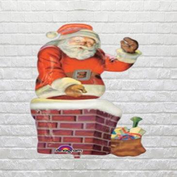 9041 Santa in The Chimney