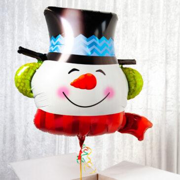 9460 Splendid Snowman Balloon in a Box