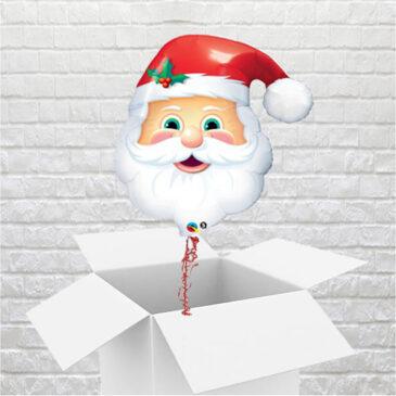 9463 Friendly Santa Balloon in a Box