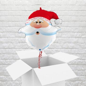9466 Santa Surprise balloon in a Box