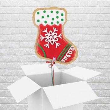 9467 Christmas Stocking Balloon in a Box