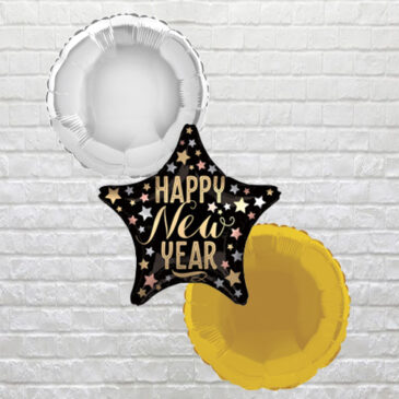 9511 Happy New Year Star