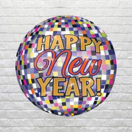 9853 New Year Disco Balloon